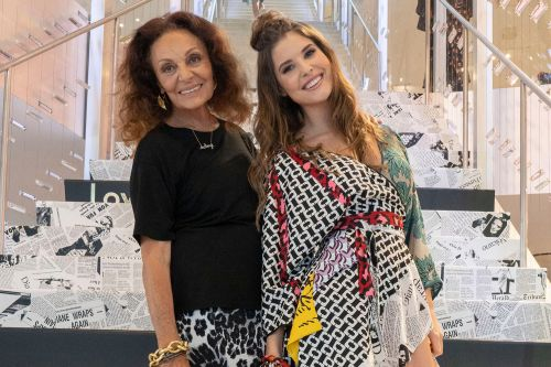 Diane von Furstenberg unveils the 'ScrapWrap' made of trash