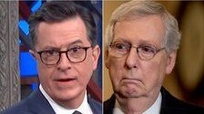 Stephen Colbert Hits Mitch McConnell With Supreme Warning: 'Payback's A Mitch!'
