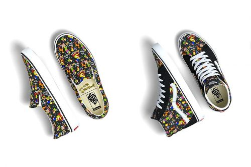 Vans and 'The Simpsons' Reunite for Christmas-Themed Capsule