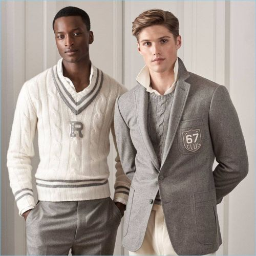 Ralph Lauren Purple Label Embraces Shades of Grey for Pre-Fall '18 Collection