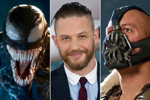 Why, oh why, does Tom Hardy always hide his pretty face in movies?