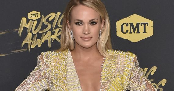 "Pregnant Carrie Underwood Teases Baby No. 2's Gender: ""You've Got a 50 Percent Chance You're Correct"""