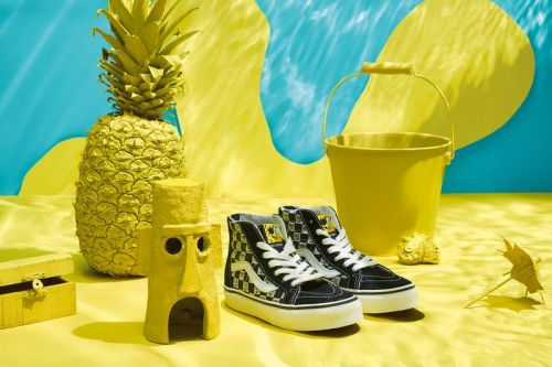 Vans Collaborates with Nickelodeon for SpongeBob Squarepants Collection