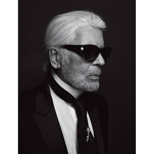 A Year On, We Revisit our Tribute to the late and great Karl Lagerfeld from Issue 2 of 10+