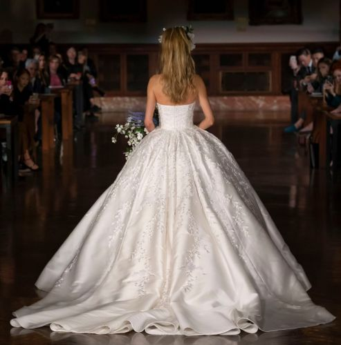 These Gowns From Bridal Fashion Week Are Absolute Goals