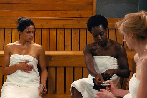 In 'Widows,' Director Steve McQueen Jackhammers an Old-Fashioned Heist Movie to Death