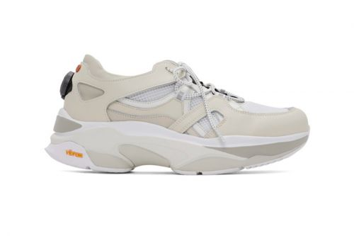 Andersson Bell Goes Tech-Heavy With Crisp White Runner Sneakers
