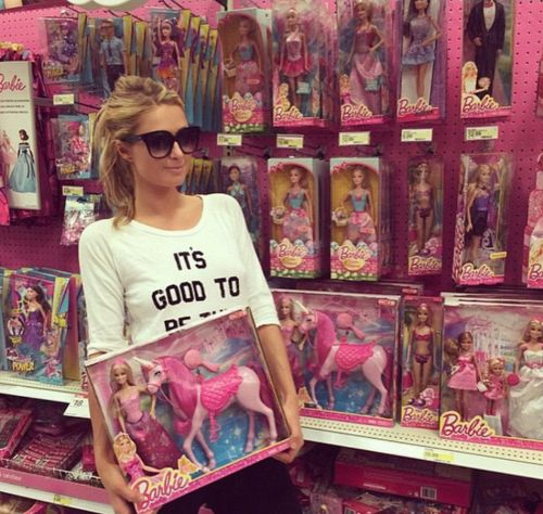 Paris Hilton's Undying Pink Obsession Proves She's Our Generation's IRL Barbie