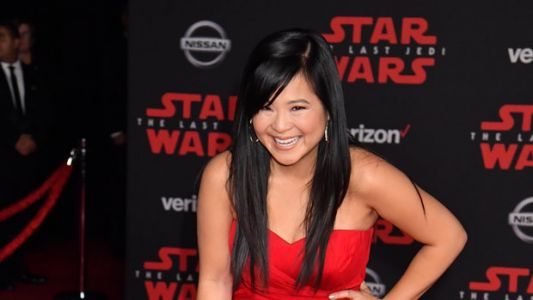 Kelly Marie Tran Wore Gown From Vietnamese Designer To 'The Last Jedi' Premiere