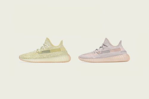 """Summer-Ready Colors Hit the adidas YEEZY BOOST 350 V2 """"Synth"""" and """"Antilia"""""""