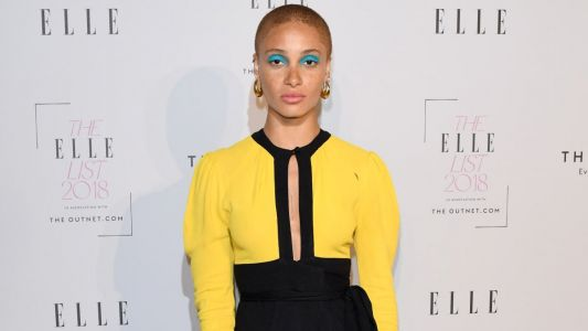 We Just Might Try Out Adwoa Aboah's Bold Beauty Look This Summer