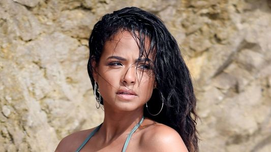 Beach Ready! Christina Milian Shows Off Her Flawless Figure in a Tiny Bikini