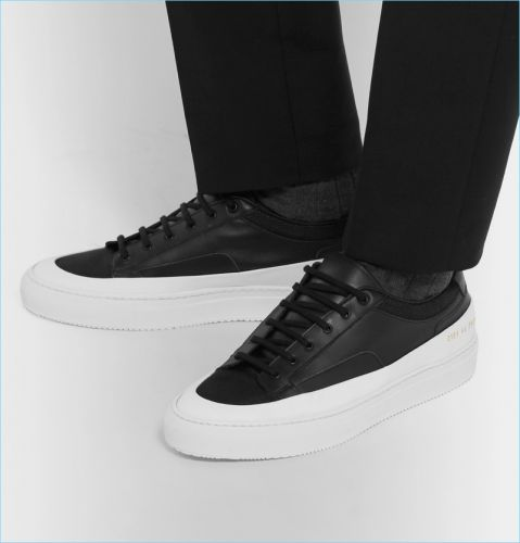 Go Casual: 5 Black & White Sneakers