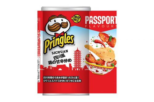 Pringles Cooks up New Sichuan Stir-Fried Chicken Flavor