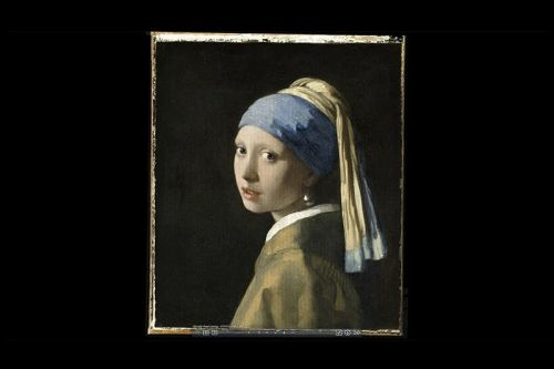 'Girl with a Pearl Earring' Painting Gets an Incredibly Detailed 10-Billion-Pixel Scan