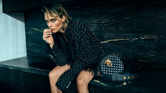 Cara Delevingne and Olivier Rousteing Collaborate on a Mini Collection of Balmain Bags