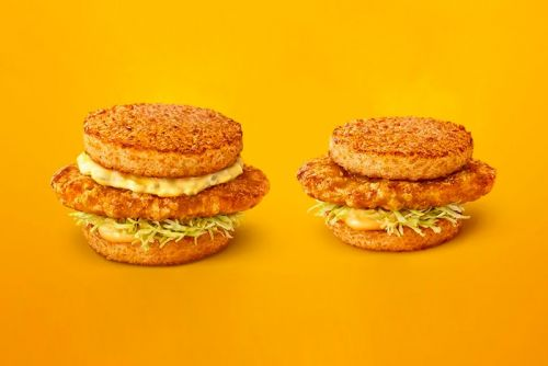 McDonald's Tatsuta Chicken Burgers in Japan Use Rice for Buns