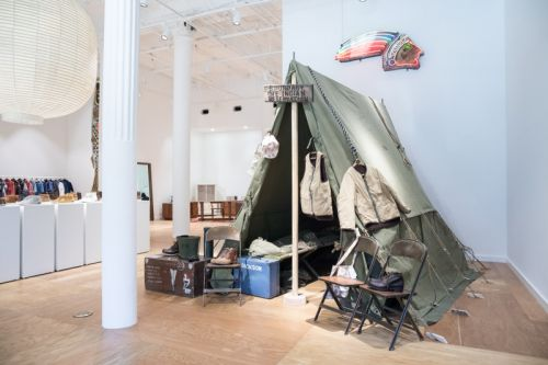 A Look Inside the VISVIM EXPOSITION Store in Los Angeles