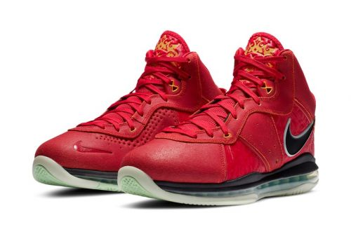 "Nike Basketball Brings the LeBron 8 ""Gym Red"" Out of the Vault"