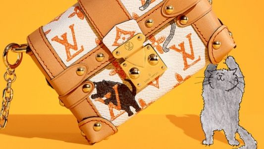 Louis Vuitton launches collection with former US Vogue editor Grace Coddington
