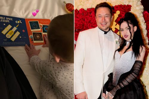 Just like dad Elon Musk: Grimes posts photo of son reading about space