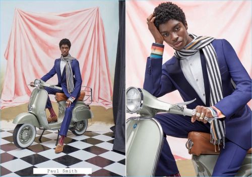 Alton Mason Dons Designer Fall '18 Collections for Simons