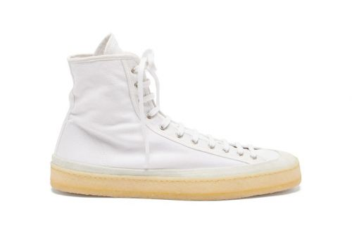 Lemaire Adds Crepe Sole to Classic Canvas Sneakers