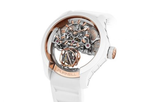 Tourbillon-Only Purnell Debuts Microfiber-based Composite Case