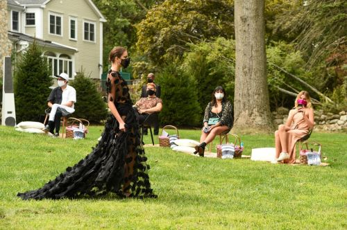 Christian Siriano Whipped Up an Optimistic Fashion Fantasy for Spring 2021