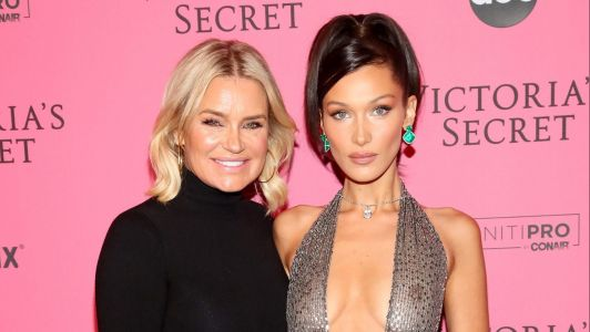 Yolanda Hadid Claps Back at a Fan About Daughter Bella's Rumored Plastic Surgery