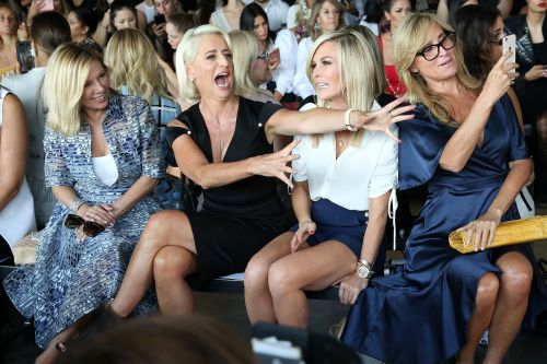 'RHONY' stars cause a scene at Fashion Week show
