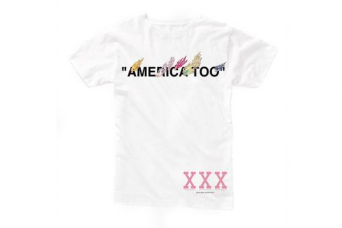 """Virgil Abloh & Takashi Murakami's """"AMERICA TOO"""" Exhibit Unveils a Set of Exclusive T-Shirts"""