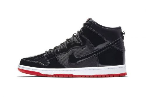 """Nike SB Dunk High """"Bred"""" Releases This Month"""