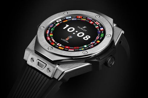 Hublot Introduces the Big Bang Wear OS Smartwatch for the 2018 World Cup