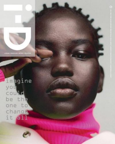 Adut, Anok, and Adesuwa usher in the future for i-D Magazine no. 353