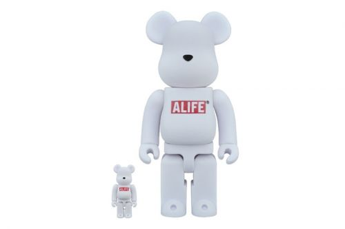 Medicom Toy Unveils an All-White ALIFE BE RBRICK