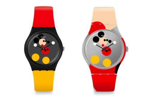 Damien Hirst & Swatch Team up to Celebrate Mickey Mouse's 90th Birthday