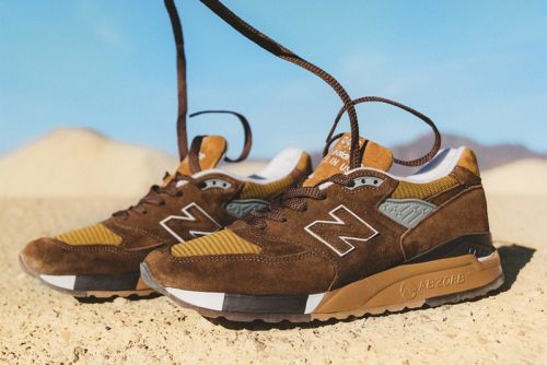 """J.Crew & New Balance Channel American Landscapes for the 998 """"National Parks"""" Pack"""