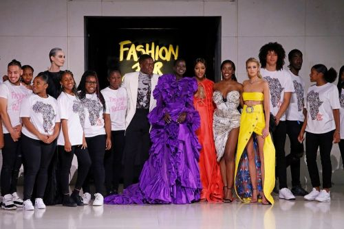 Naomi Campbell's Fashion For Relief Comes Back To London