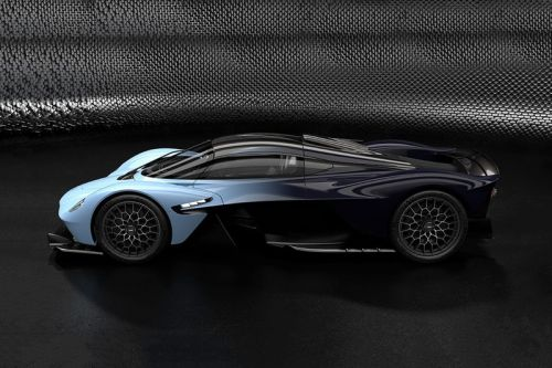 Aston Martin Unveils Official Images to the Valkyrie Hypercar