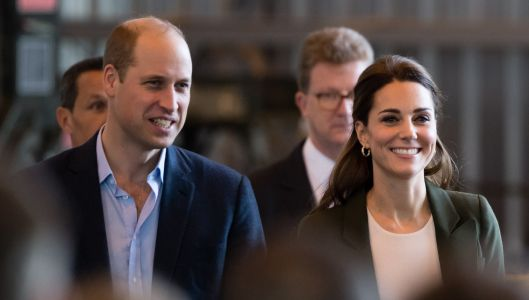 Kate Middleton and Prince William Delivered Holiday Cheer to a Military Base