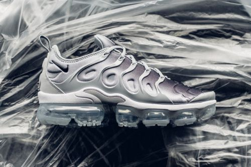 "Nike Air VaporMax Plus Armors up In ""Wolf Grey"""