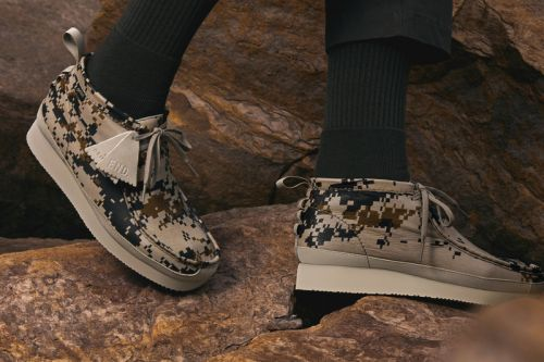 "END. & Clarks Originals Team up for a ""Digi Camo"" Capsule"