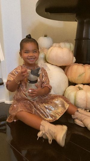 Feeling Festive! True Thompson Plays With Pumpkins in Adorable Photos and Video