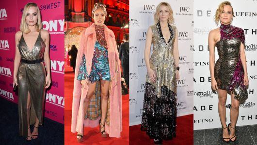 This Week's Best Dressed Celebrities Were Oh So Very Sparkly