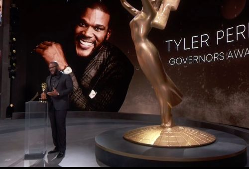 Tyler Perry Acknowledged Critics While Accepting The Governors Award