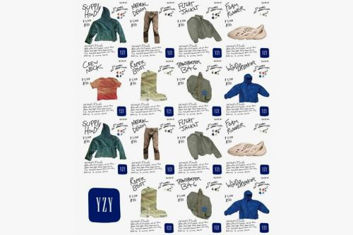 Surfaced Un-Official YEEZY Gap Catalog Offers a Look at What's To Come