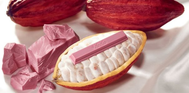 Pink Kit Kats Are Officially A Thing