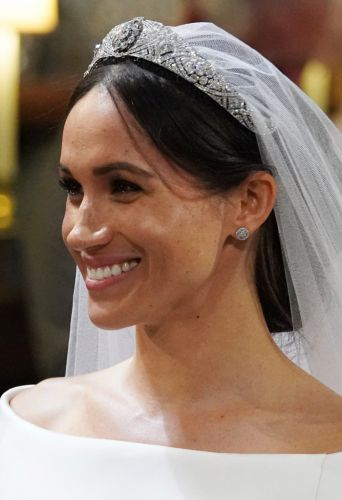 Meghan Markle Showed Off Her Freckles with Her Natural Wedding Makeup