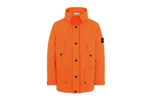 """Stone Island Adds Bold New """"Fluo Orange"""" Collection to SS19 Line"""
